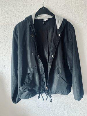 H&M Sports Jacket black-grey