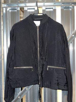 Mango Veste chemise noir-doré