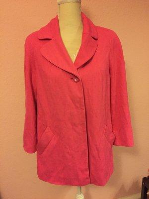 dünne Jacke pink Mayerline brussels 42  long blazer