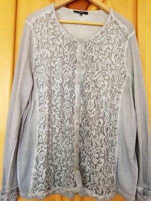 Bonita Veste chemise argenté