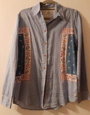 dünne, leichte Bluse mit floralem Print