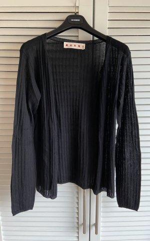 Marni Veste en tricot noir