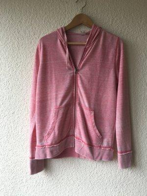 Dünne rosa Shirt-Jacke