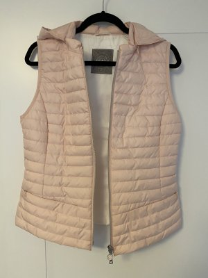 Taifun Quilted Gilet pink-silver-colored