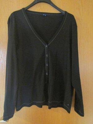 Cecil Chaqueta estilo camisa negro-gris oscuro Algodón