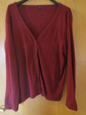 Cecil Chaqueta estilo camisa rojo oscuro Algodón