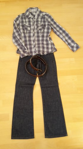 s.Oliver Boot Cut Jeans dark blue