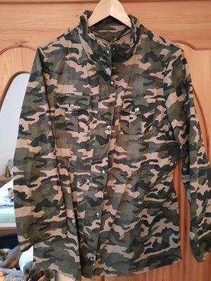 Kurtka wojskowa khaki