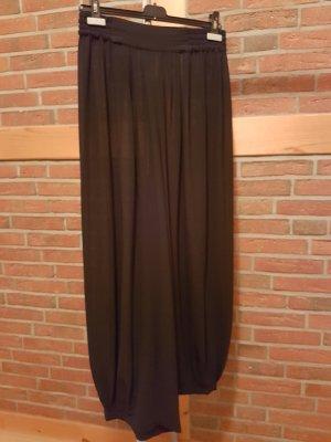 s. Oliver (QS designed) Pantalone alla turca nero Poliestere