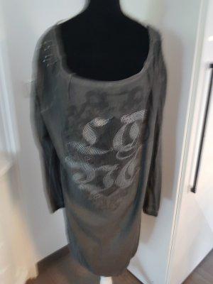 Camicia a tunica antracite