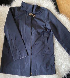 FAY Long Jacket dark blue-azure
