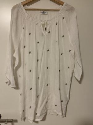 Dünne weiße Bluse