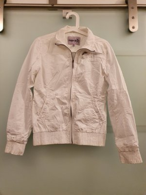 Dünne weiße Jacke Gr. M