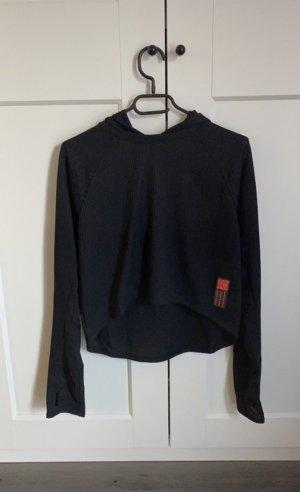 Adidas Hooded Sweatshirt black-silver-colored