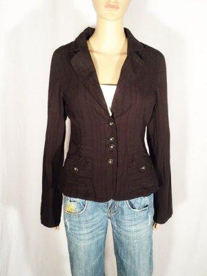 dünner Blazer Jacke von Ichi schwarz Gr. M