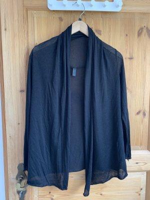 Dünner Cardigan in schwarz