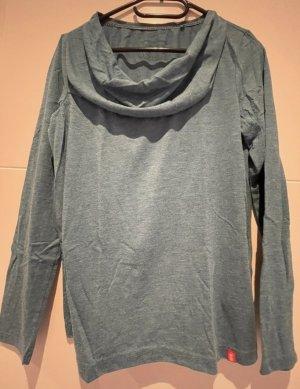 edc Cowl-Neck Shirt slate-gray