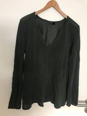 dünner Feinstrick-Pullover