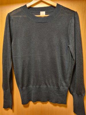 H&M Lang shirt petrol