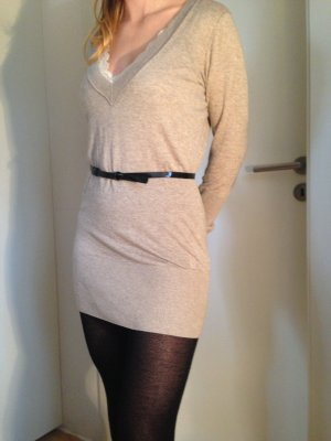 dünner klassischer Longpulli oder kurzes Strickkleid, Tom Tailor, Größe S