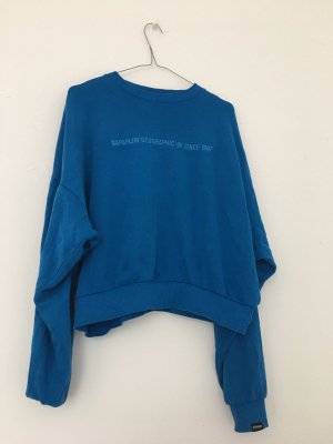 Dünner knallblauer Pullover von Napapijri