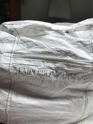 Dünner Knitterlook Einkaufsbeutel mit Reissverschluss