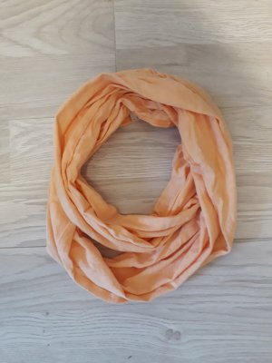 de.corp by Esprit Tube Scarf apricot cotton