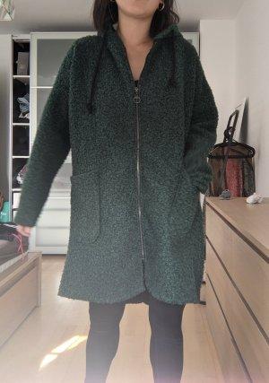 Manteau à capuche vert forêt