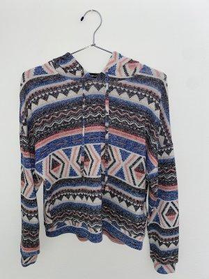 FB Sister Camicia con cappuccio multicolore