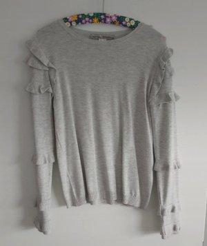 Ashley Brooke Crewneck Sweater light grey