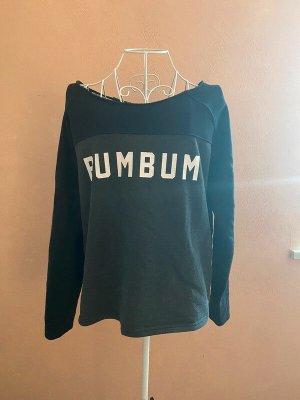 BumBum Pull ras du cou noir-gris
