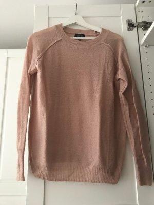 Dünner Pullover in Rosé