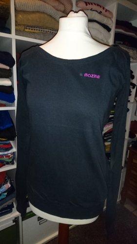Dünner Pullover von Mazine in schwarz Gr. M