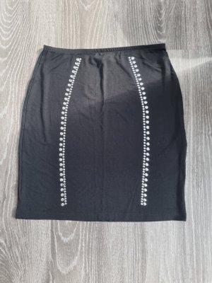 Even & Odd Spódnica ze stretchu czarny