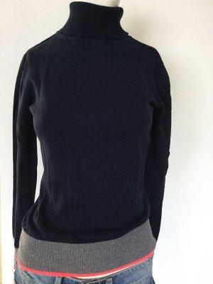 AJC Turtleneck Sweater dark blue