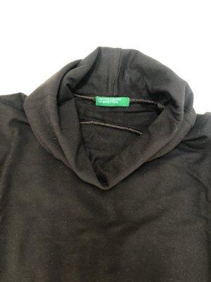 United Colors of Benetton Jersey de cuello alto negro