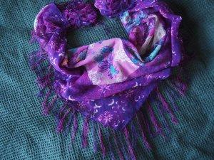 Bijou Brigitte Fringed Scarf multicolored