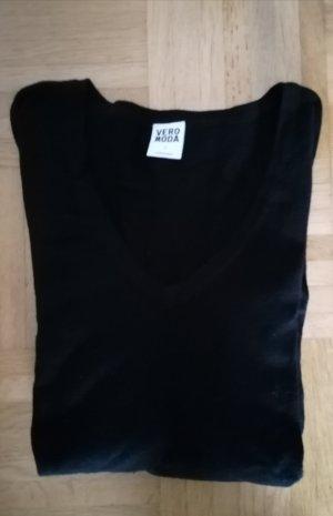 dünner schwarzer Pulli von Vero Moda