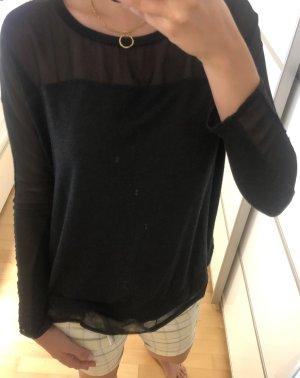 Dünner schwarzer Pullover von Zara