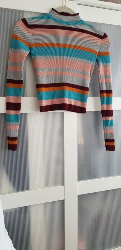 Pull & Bear T-shirt court multicolore