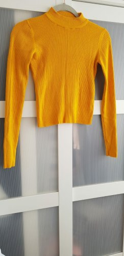 Pull & Bear T-shirt court orange doré