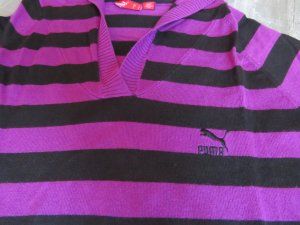 Puma Knitted Sweater lilac-black