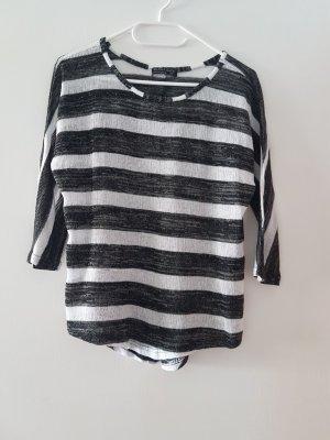 Dünner Strickjacke Pullover 3/4 Ärmel Rollkragen Shirt von Blind Date Woman (Mister*Lady)