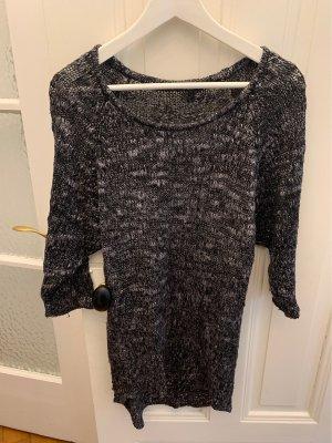 Blend She Maglione lavorato a maglia nero-grigio