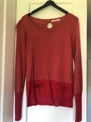 Camaieu Knitted Sweater raspberry-red-pink