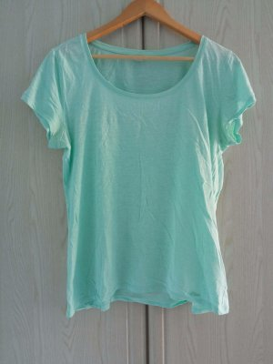 s.Oliver Basic Shirt sage green cotton