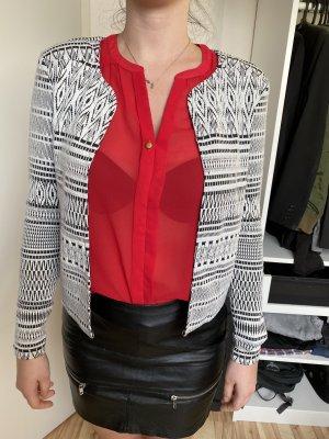Vila Clothes Blazer sweat blanc-noir