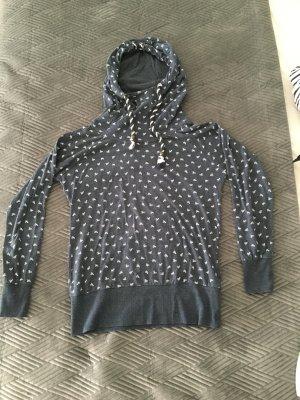 Colloseum Hooded Sweatshirt steel blue mixture fibre