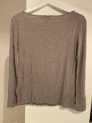 H&M Camicia lunga marrone-grigio