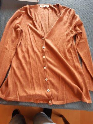 Cashmasoft Vestido tipo jersey naranja oscuro